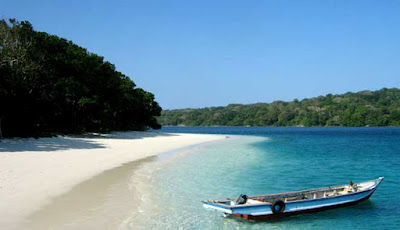 ENJOY THE BEAUTY OF CIPUTIH BEACH IN PANDEGLANG DISTRICT INDONESIA