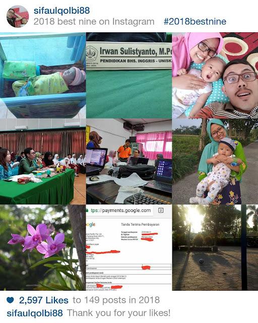 Cara Melihat Best Nine Instagram Sendiri