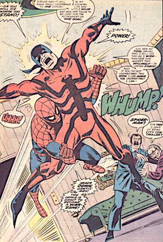 Peter Parker the Spectacular Spider-Man #1,The Tarantula