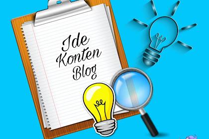 Cara Jitu Mendapatkan Ide dalam Menulis Blog