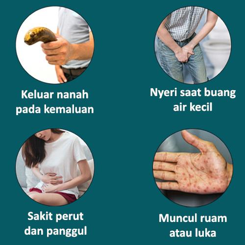 Tanda Gejala Penyakit Sipilis dan Gonore