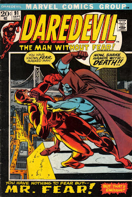 Daredevil #91, Mr Fear
