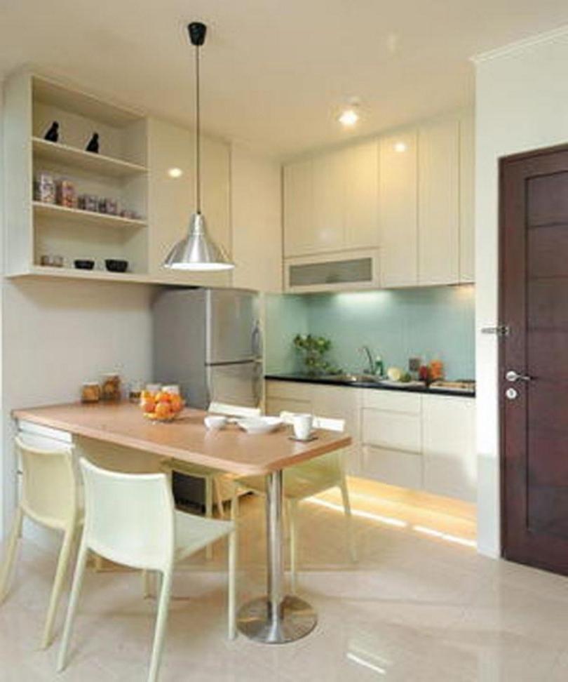 80 Desain Dapur dan Ruang Makan Sederhana yang Menyatu