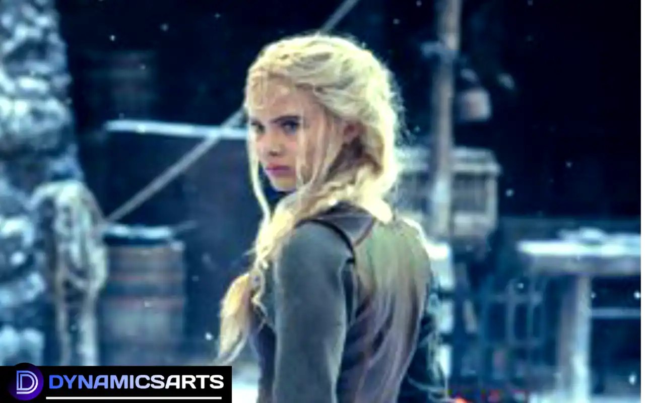 Witcher season 2 : Ciri New Images Unveils Training with Geralt
