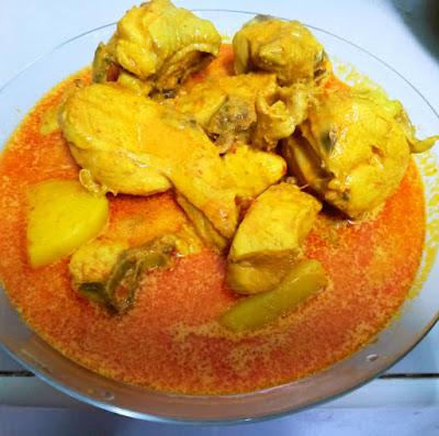 Gambar Resepi Gulai Ayam Yang Simple