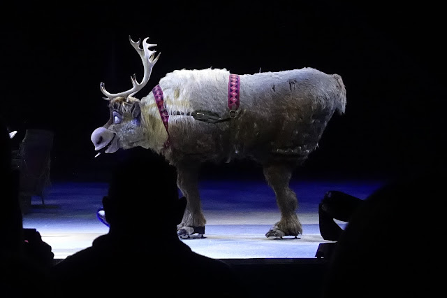 Sven from Frozen in Disney on Ice