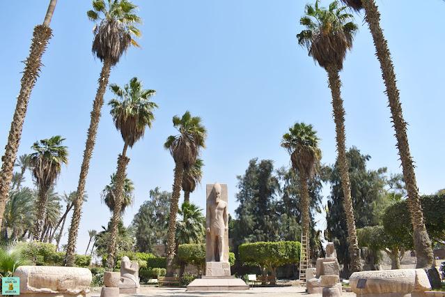 Museo de Menfis en Egipto