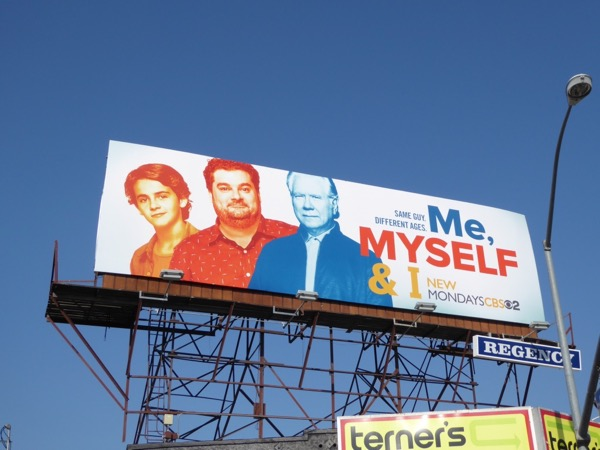 Me Myself and I sitcom billboard