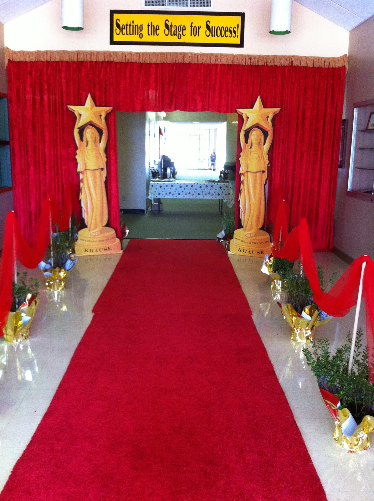 Finest Lights, Camera, Krause! Rolling out the red carpet for open house  ME28