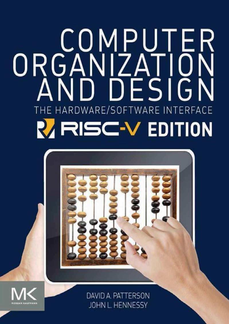 Computer Organization and Design – David A. Patterson