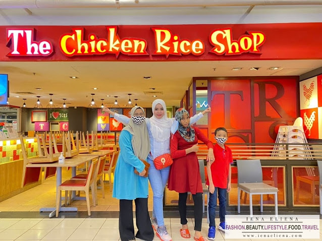 Ayam Butter Sedap di The Chicken Rice Shop