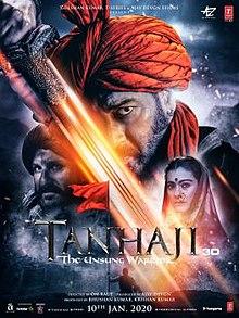 Tanhaji: The Unsung Warrior (2020) Hindi Full Movie Watch Online Movies