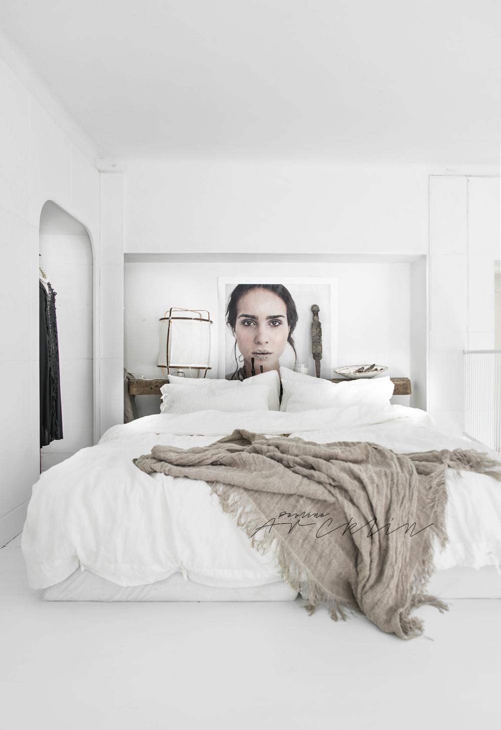 El maravilloso mundo blanco y natural de la fotógrafa estilista Paulina Arcklin