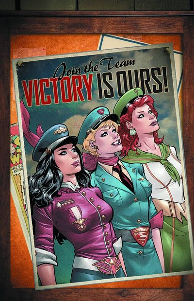 Justice League Ladies - Bombshell Variant