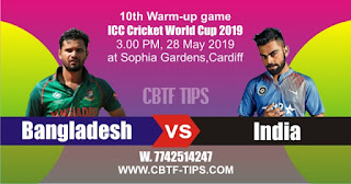 CWC19 Match Prediction Tips by Experts IND vs BAN
