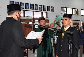 Sumardin, Duta Partai Hanura Resmi Menjadi Anggota DPRD Kabupaten Bima