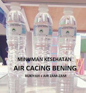 minuman kesehatan air cacing bening