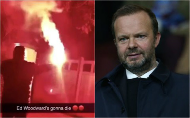 MU đại loạn trước derby: Fan cuồng chửi rủa, phóng hỏa nhà sếp lớn 2