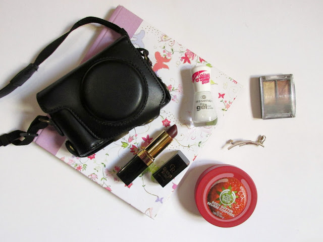 December favourites, the body shop, max factor golden rose, accessorize