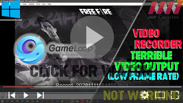 How to Fix the Gameloop Video Recorder not Working or Terrible Video Output (Low Frame Rate)