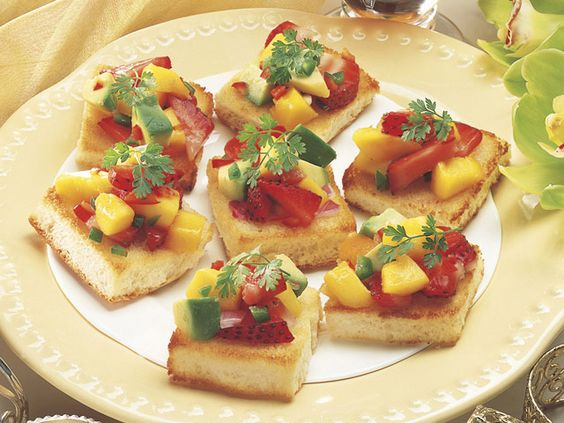 Create an exquisite platter of hawaiian appetizers with 4 winning there are more than 10 different varieties of hawaiian bruschetta prepared by using fruits and meat the vegan version has a caramelised topping made of forumfinder Gallery