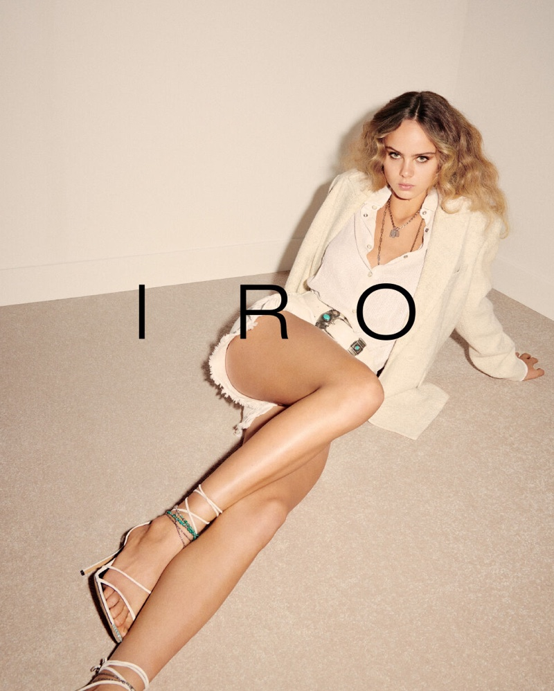 IRO Spring/Summer 2020 Campaign featuring Olivia Vinten