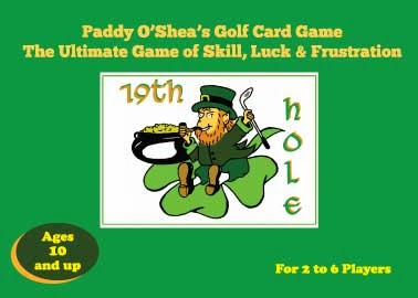 Enter to win your own Paddy O'Shea's Golf Card Game. Ends 2/18/14.
