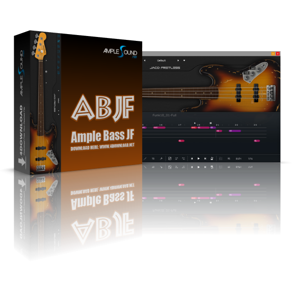 Ample Bass Jaco Fretless III v3.2.0 Full version