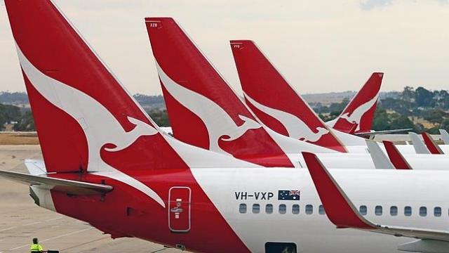 طيران كانتاس Qantas Airways خطوط كوانتاس الجوية