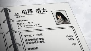 ヒロアカ アニメ   相澤消太 先生   イレイザー・ヘッド   AIZAWA SHOTA   My Hero Academia 僕のヒーローアカデミア