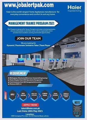 Haier-Management-Trainee-Program-2021