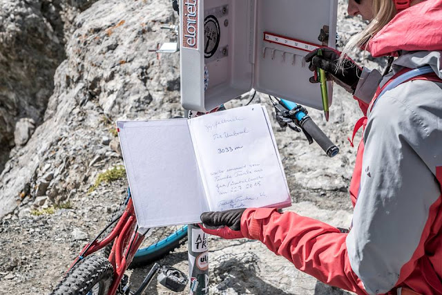 MTB - Piz Umbrail 3033 m.ü.A. Mountainbike Tour Vinschgau Stilfser Joch