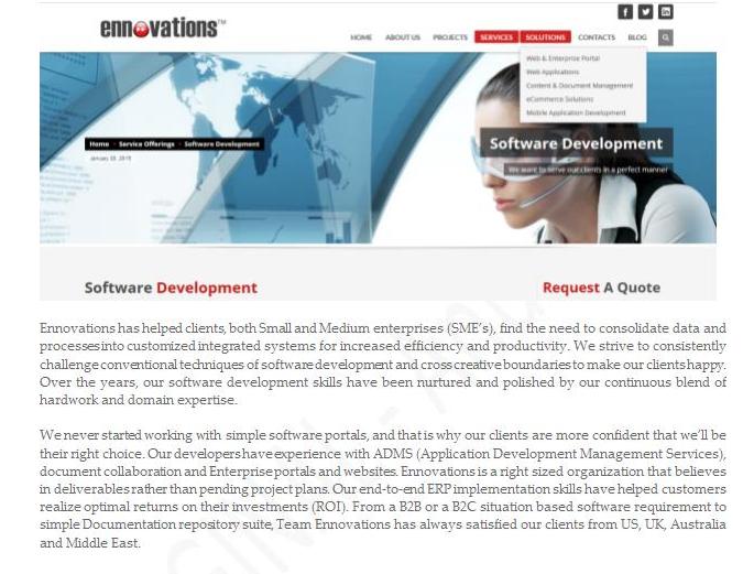 Sample #Website #Content - #IT #Software Development