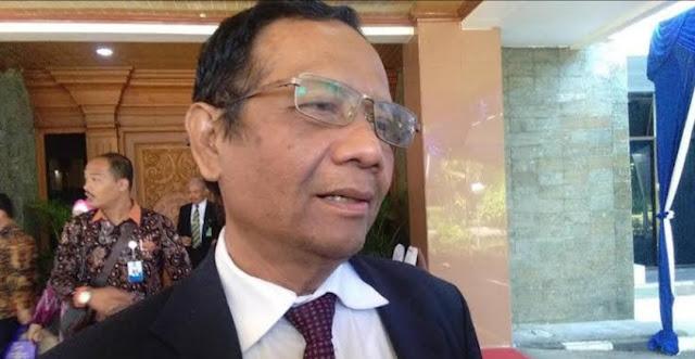 Disertasi Hubungan Intim Nonmarital, Mahfud MD: Meresahkan