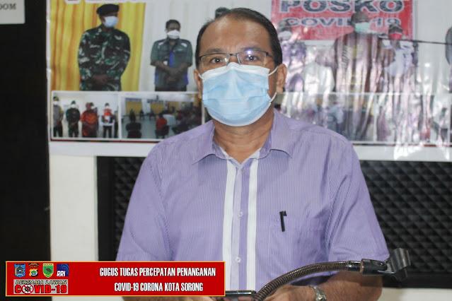 Ruddy Laku Ungkap Total Positif Covid-19 di Kota Sorong Capai 918 kasus.lelemuku.com.jpg