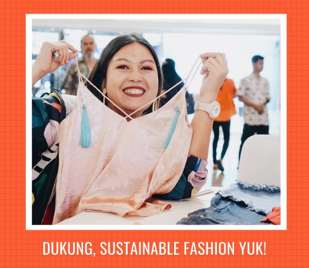 dukung sustainable fashion