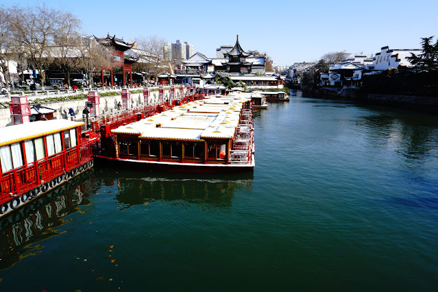 Cruise on the Qinhuai River