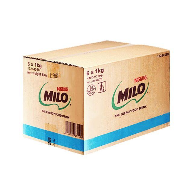 Milo Active Go Refill 1kg x 6