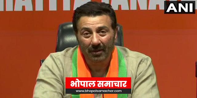 अब मोदी के मंच से पाकिस्तान पर दहाड़ेंगा पंजाब का शेर, सनी देओल ने भाजपा ज्वाइन कर ली   NATIONAL NEWS
