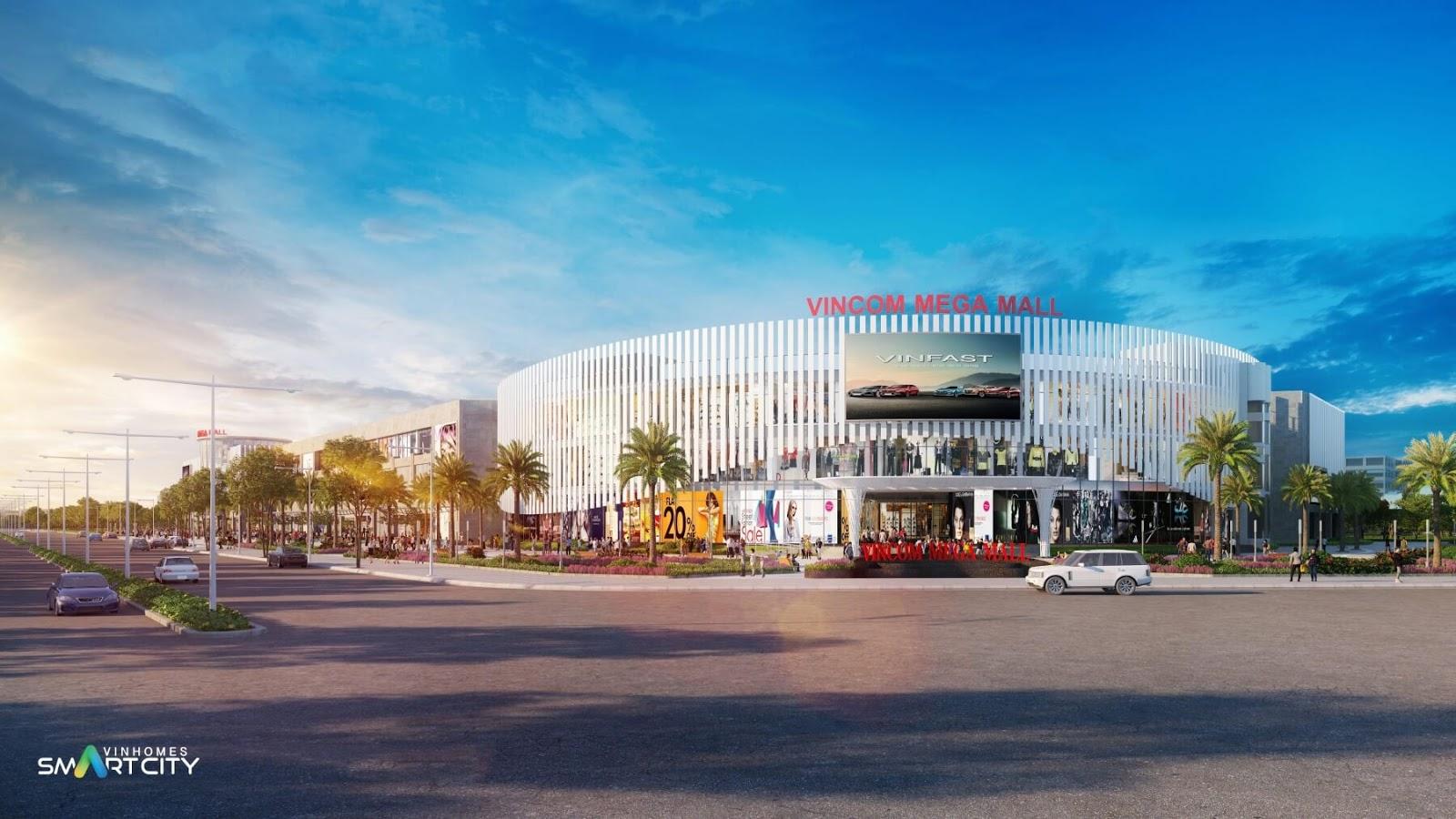 Vincom Mega Mall - đại siêu thị quy mô lớn của Vinhomes Smart City