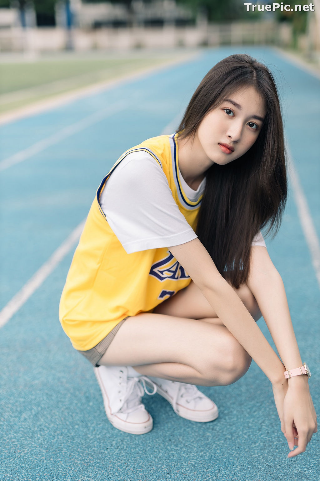Image Thailand Beautiful Girl - View Benyapa - Long Hair Sport Girl - TruePic.net - Picture-4