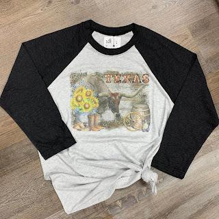 Texas Longhorn tee shirt