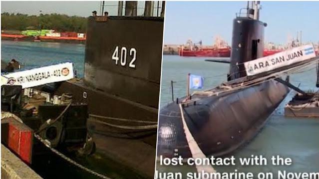4 Kemiripan Insiden Tenggelamnya Kapal Selam San Juan dan KRI Nanggala-402