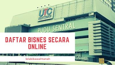 Daftar Bisnes secara online