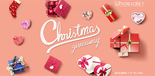 CHRISTMAS GIVEAWAY | 2 Wholesale7 gift cards!