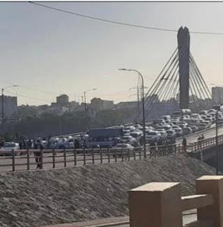 Cierran varios puentes que comunican con el Distrito Nacional