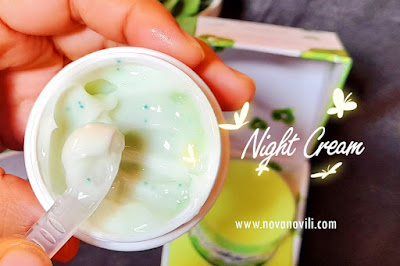 cica night cream npure