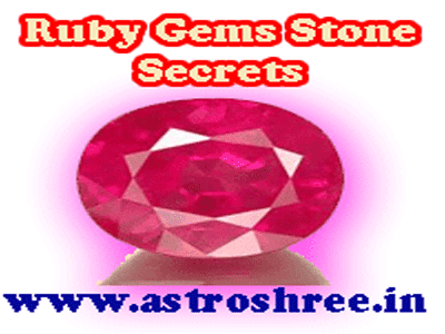 ruby gems stone details in astrology by astrologer