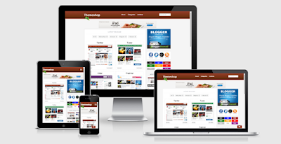 ThemeShop - Responsive Blogger Template