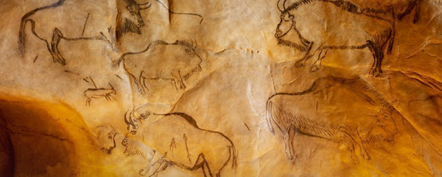 The Higgs Bison - mystery species hidden in cave art
